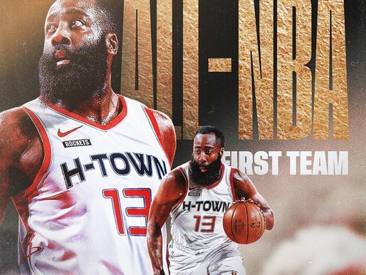 "Rockets ""Dynamic Duo"" earns All-NBA Honors"