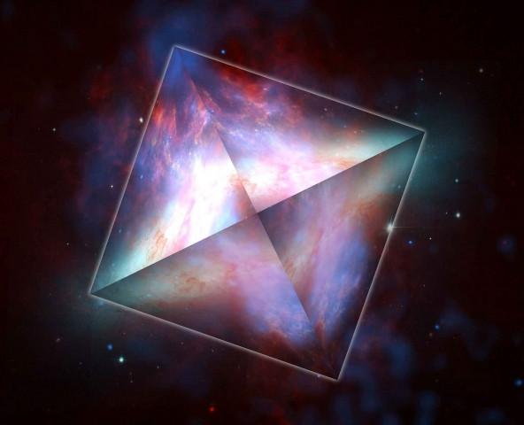 """""""O espaço tem forma"""", como disse Bucky Fuller."""