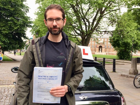 Congratulations Dr Chris on passing your test so well.  Many thanks for your kind Google review.