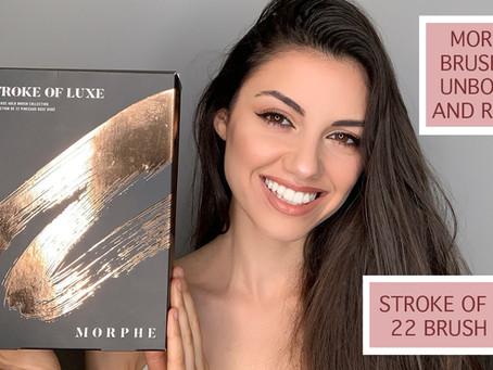 MORPHE BRUSH SET REVIEW | STROKE OF LUXE BRUSH SET