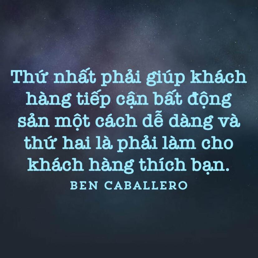 Làm cho khách hàng thích bạn - Ben Caballero