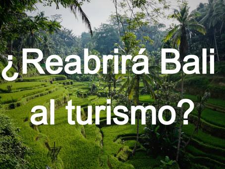 Bali, Indonesia cerrado hasta finales del 2020.