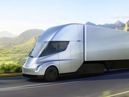 The electric Semi-Truck from Tesla is here!