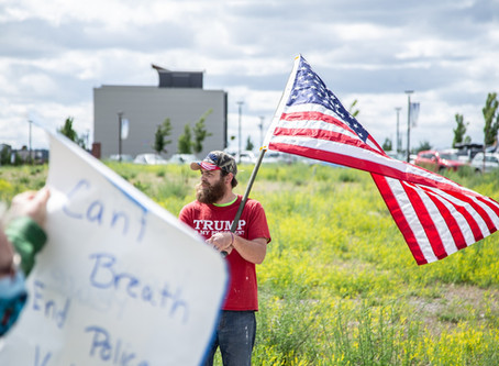 Protesting In Trump Country (Photo Essay)
