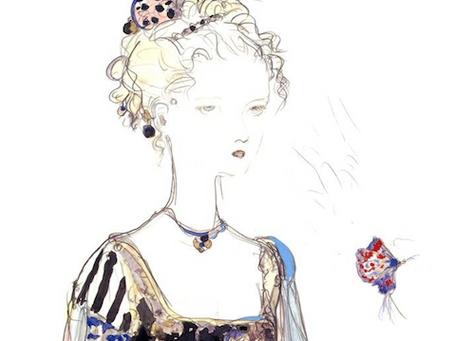 Commission: Terra Branford (striped dress) captured