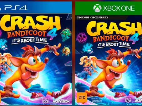 Crash Bandicoot 4: se filtran imágenes de su tráiler y la fecha de lanzamiento