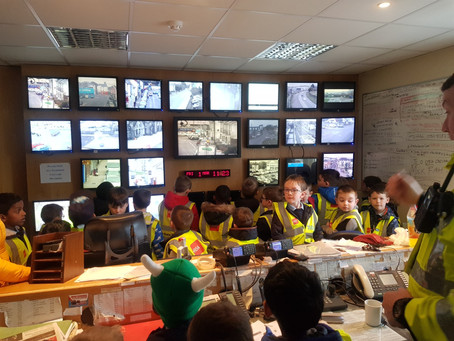 Senior Infants visit to the Garda station.