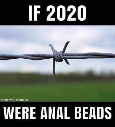 If 2020 were Anal Beads