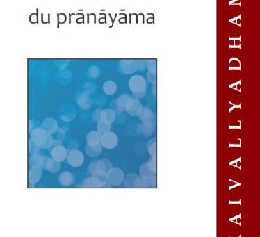 L'essence du pranayama