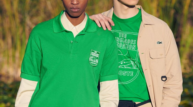 Lacoste and The Everglades Foundation Partner On A New Collection