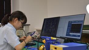 第58回技能五輪全国大会「電子機器組立て職種」出場