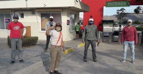 El Chavo del 8 visitó el Parque del Bicentenario para concientizar sobre los protocolos sanitarios