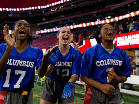 Girls Flag Football IS NOW An Official Sanctioned Sport In Georgia