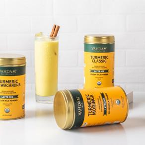 VAHDAM Teas Launches Organic Range of Adaptogenic Turmeric Lattes