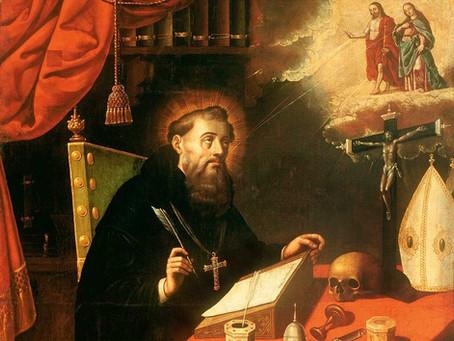 Santo Agostinho e Santa Teresa de Jesus
