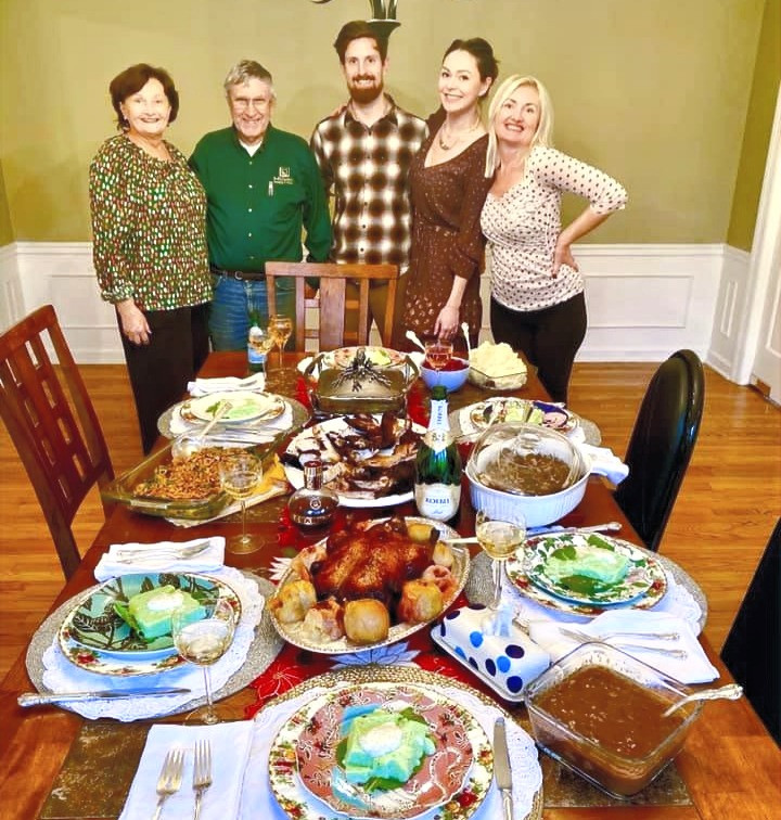 Thanksgiving wish from Rob, Masha, and their families to you!