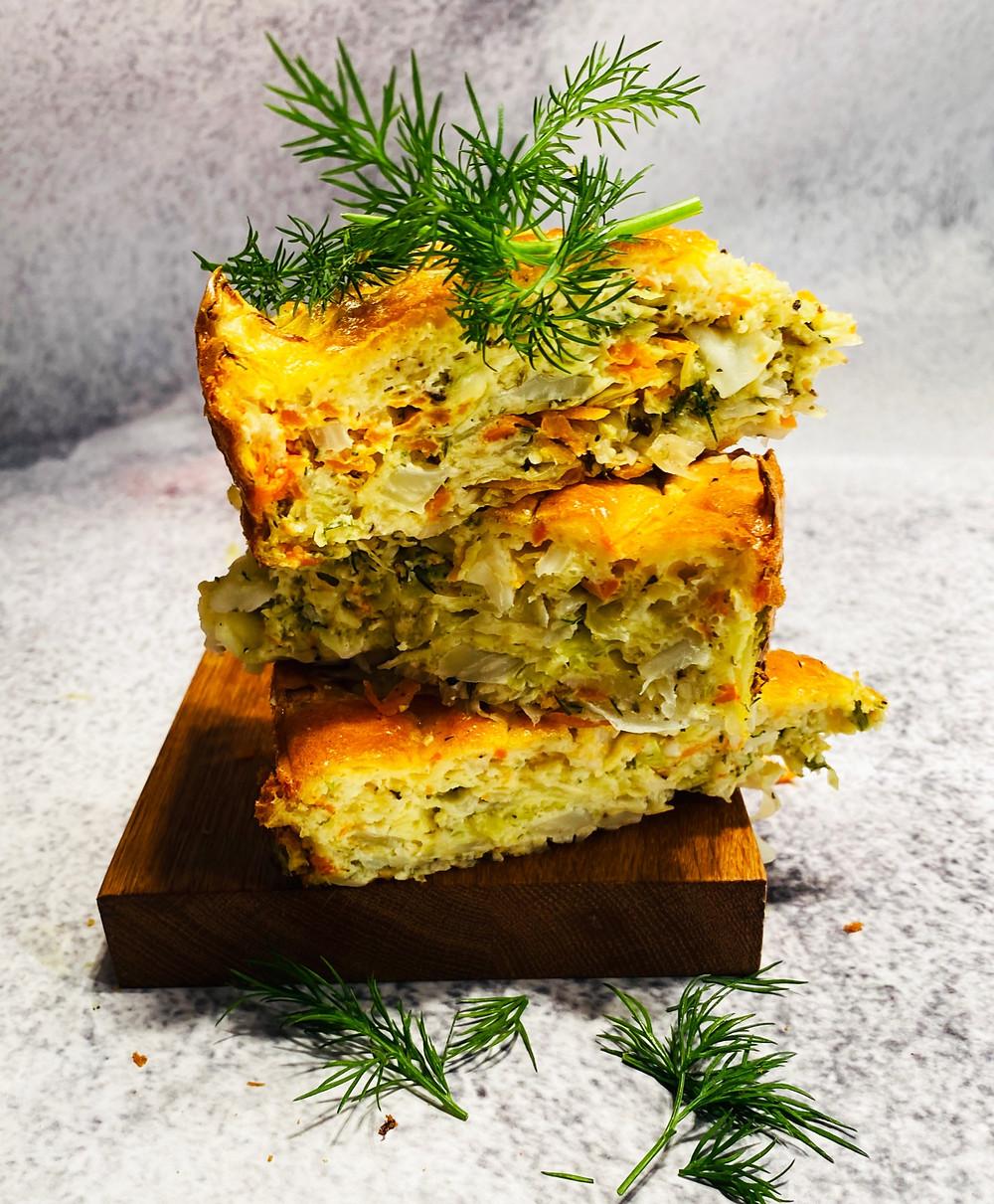 kopūstų pyragas, Alfo receptas