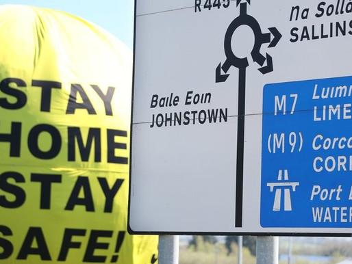 Kwarantanna w trzech hrabstwach w Irlandii