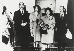 Mr. and Mrs. Eto, After Becoming U.S. Citizens