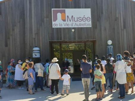 Visite au MUSÉE DE LA VIE D'AUTREFOIS