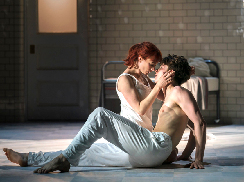 xxx and xxx in Matthew Bourne's Romeo and Juliet, the latest production from his New Adventures company, at The Lowry