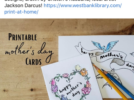 Print a Unique Mother's Day Card