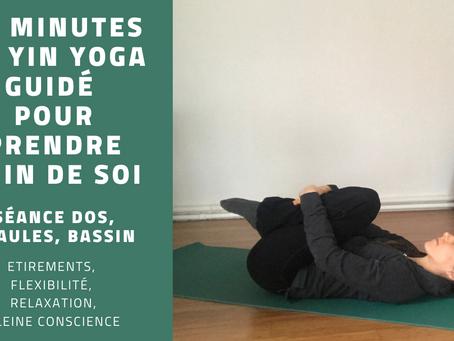 25 minutes de Yin yoga pour finir l'hiver en beauté :)