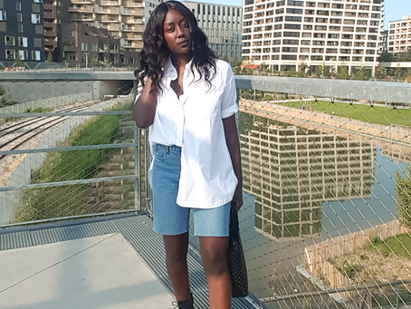How to style vintage Bermuda shorts