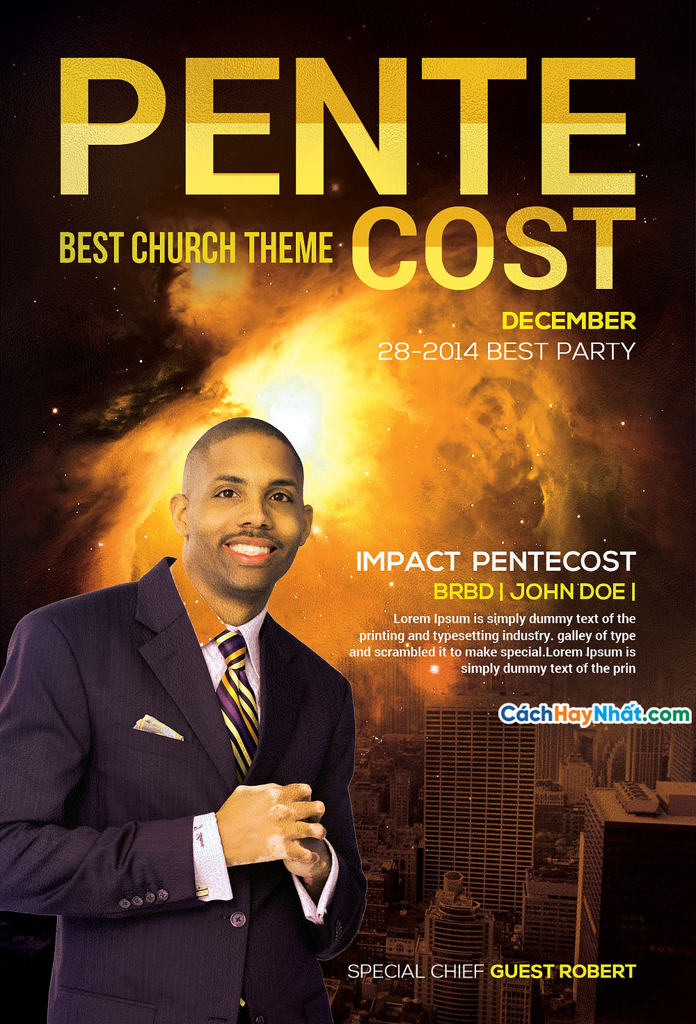 10 Church Flyers Templates Photoshop Free