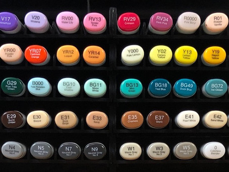 My Copic Collection 358/358