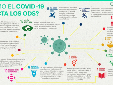 """ONU: COVID-19 puede """"retrasar décadas"""" el desarrollo sostenible en el mundo"""