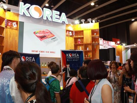 홍콩을 사로잡은 기능성 고품질 한국 농식품