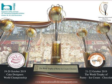 Cupa Mondială în Patiserie, Gelaterie și Ciocolaterie Milano 2019