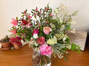 A tip for longer lasting flowers