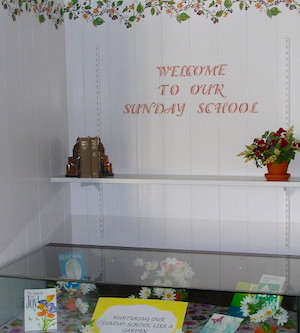 Children welcome:                             Sunday School and more