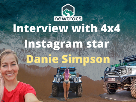 Newtracs chats with 4x4 Instagram Star - Danie Simpson