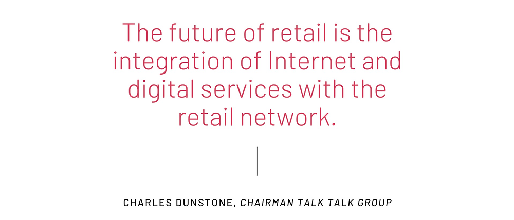 Integration of Digital Services and Retail Network
