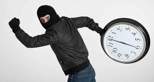 Robo  de tiempo, otra forma de robar energía