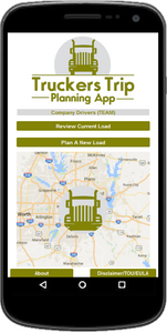 Team Company Drivers Truckers Trip Planning App