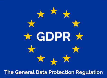 An Update on GDPR