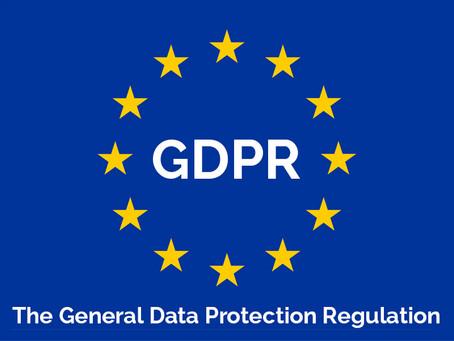 An Update on GDPR
