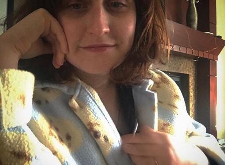recovery fashion part 1: shower/dog sweatshirt