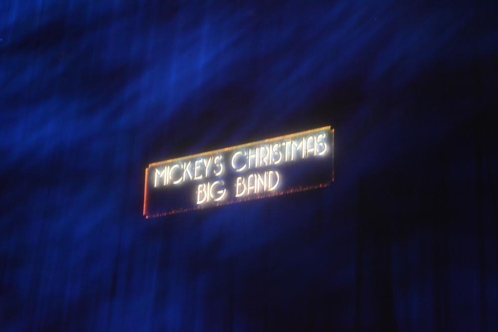 Mickey's Christmas Big Band Disneyland Paris