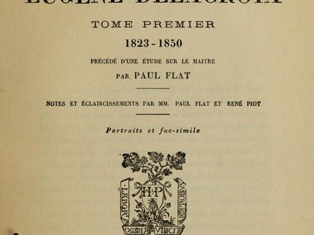 """Eugène Delacroix sur le """"Progrès Moderne"""""""