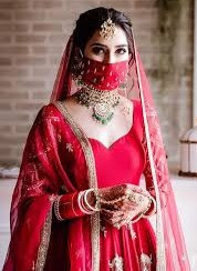 Bhavdeep Kaur - India's Mos viral brides of 2020 shares her wedding look. Lockdown wedding inspiration and the viral bride with mask