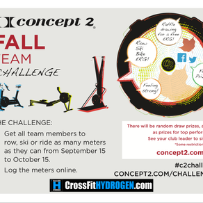 Kick off the FTC at CrossFit Hydrogen!