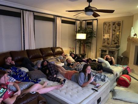 #TDRfamily - Sleepover Spring 2020