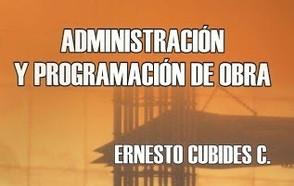Administración y Programación de Obra