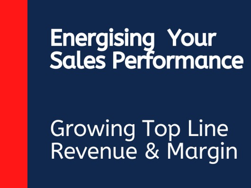 Sales revenue and margin, not growing inline with expectations?