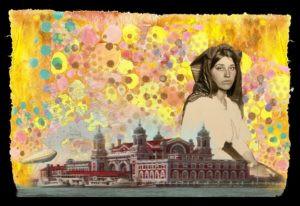 """Die Goldene Medina – From Italy"", by Shelby Pizzarro - Twitter Art Exhibit"